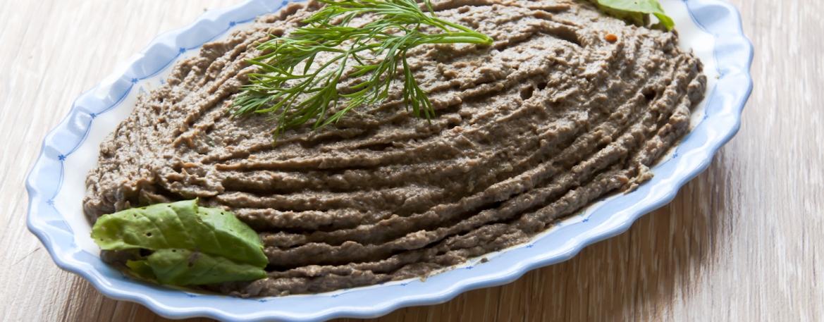 Рецепт печеночного паштета с грибами пошагово с