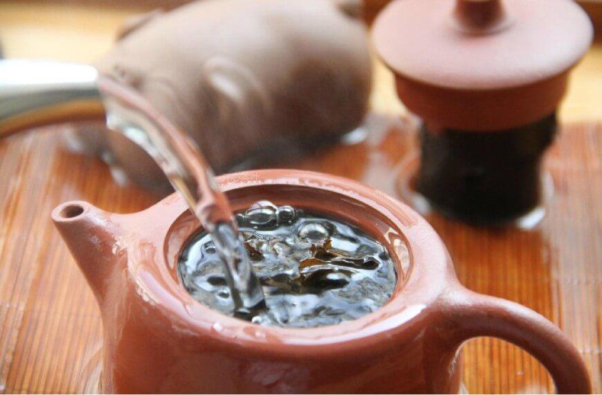 чай в чайнике